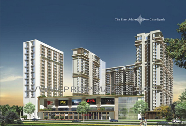 Curo One Flats, Apartments, Showrooms, Serviced Suits in New Chnadigarh