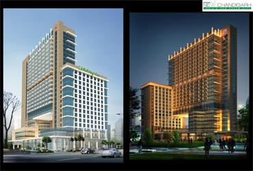 Chandigarh omaxe holiday inn by property masterz