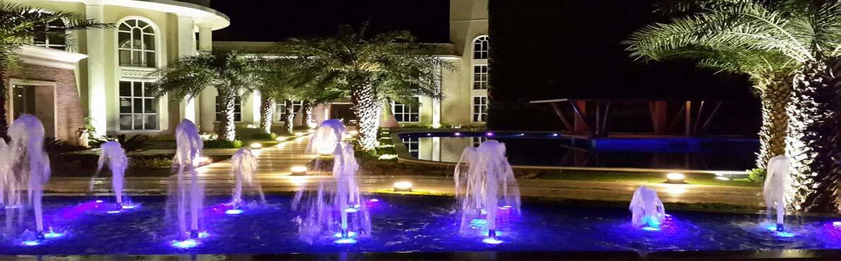 Omaxe club night view