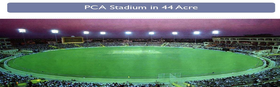PCA cricket stadium mullnapur new chandigarh