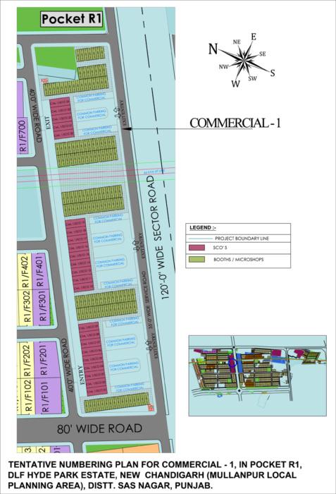 F:DLF INDIA LTD - DLF UNIVERSAL LTDMULLANPUR-NEW CHANDIGARHMu
