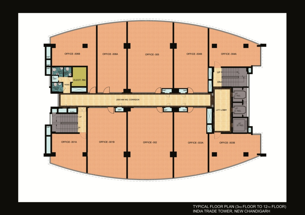 india trade tower floor plan layout