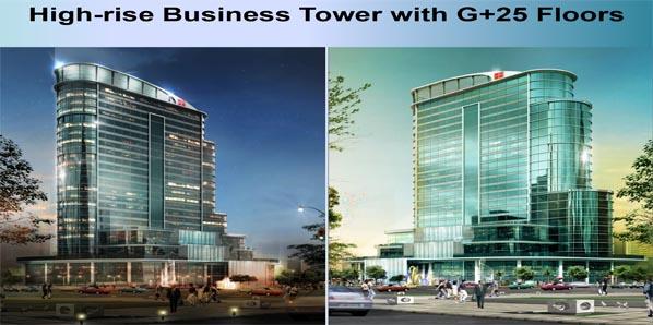 Omaxe international trade tower