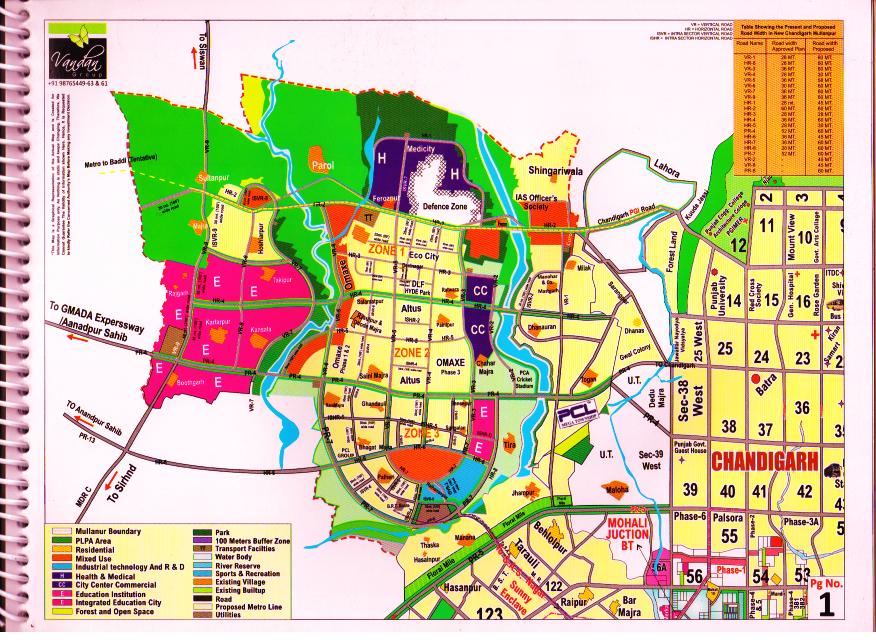 new chandigarh masterplan from chandigarh