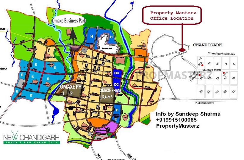 omaxe business park new chandigarh property masterzs