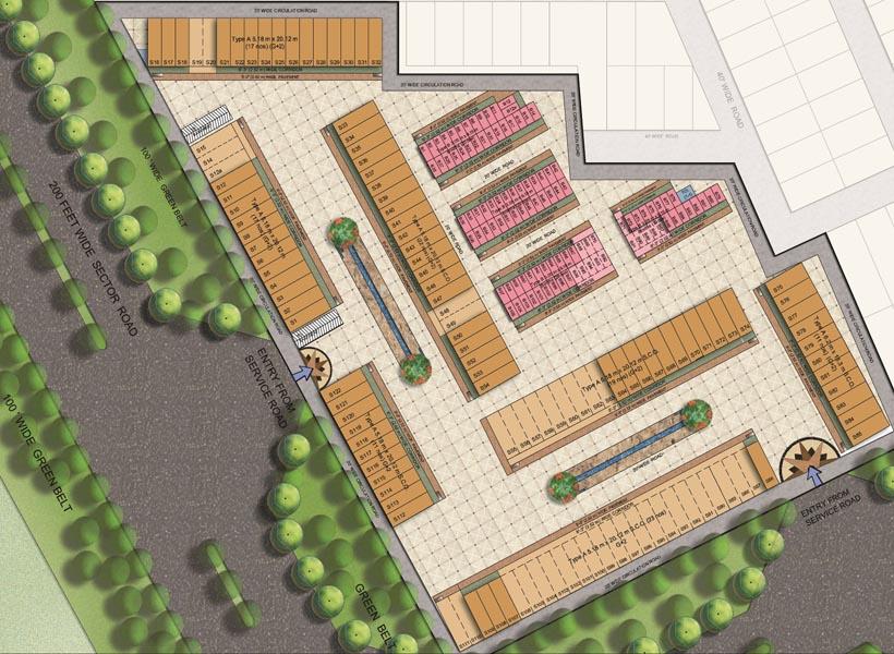 omaxe phase 1 sco booth new chandigarh property masterz