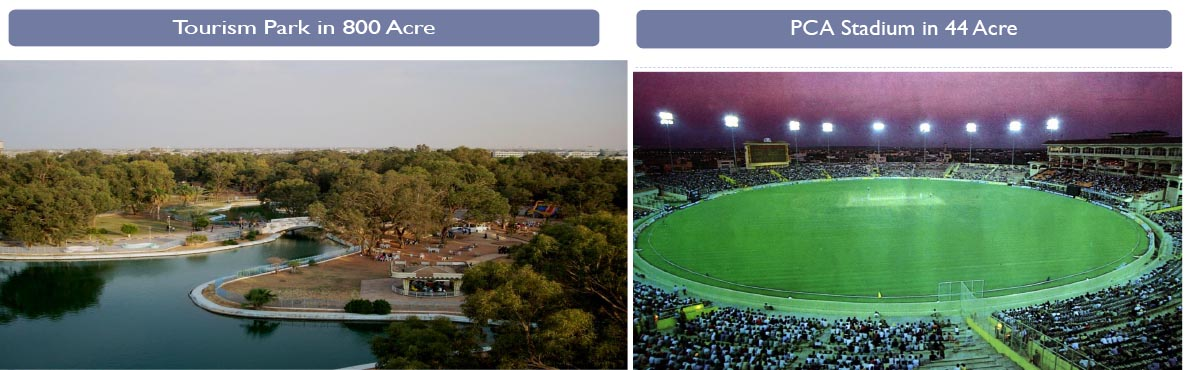 tourism park and cricket stadium new chandigarh
