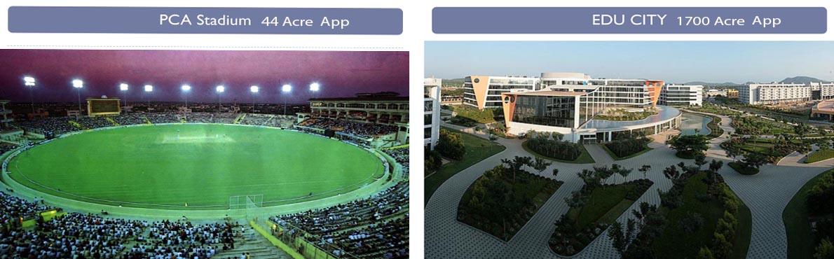 new chandigarh educity and pca stadium by property masterz