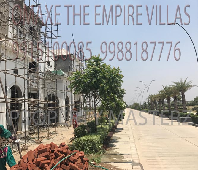 OMAXE EMPIRE VILLAS CONSTRUCTION