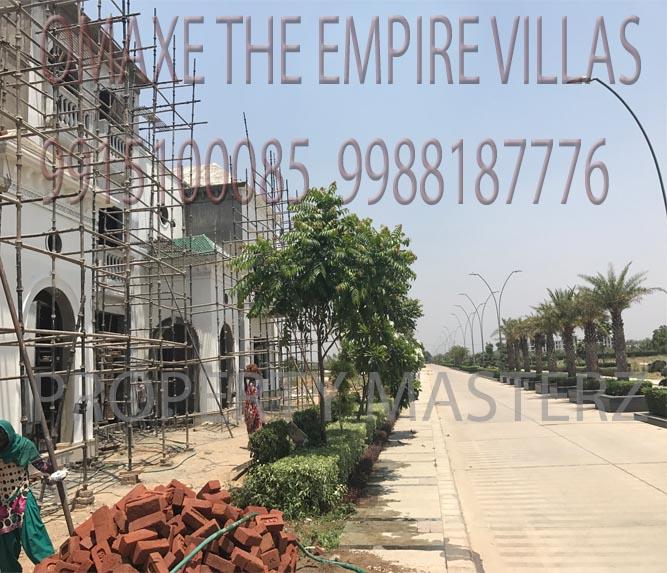 OMAXE EMPIRE VILLAS CONSTRUCTION