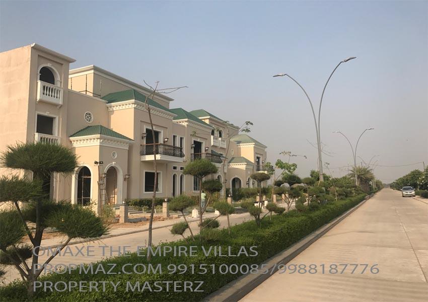 omaxe the empire villas mullanpur
