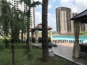 Omaxe The lake flats For rent